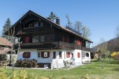 Haus an der Kräuterwiese im Sommer