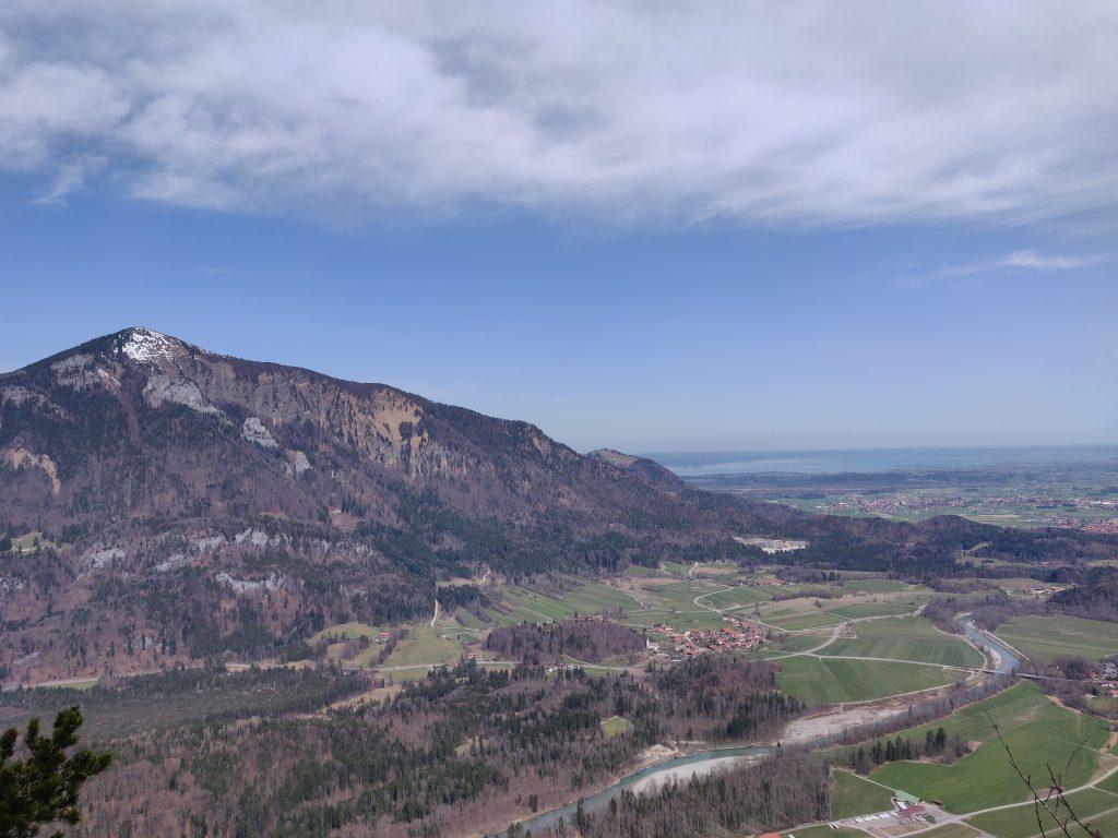 Hochplatte, Tiroler Ache und Chiemsee